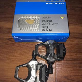 シマノ(SHIMANO)のシマノ ビンディングペダル105 PD-5800(パーツ)