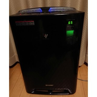 シャープ(SHARP)のシャ―プ プラズマ空気清浄機&加湿器(空気清浄器)