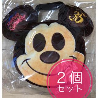 Disney - ミッキーパン スーベニア ランチケース 2個セット 35周年 バッグ カレンダー
