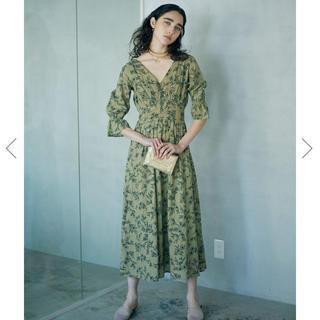 アメリヴィンテージ(Ameri VINTAGE)のAmeri Vintage アメリ ♡ カロリナレトロドレス ワンピ(ロングワンピース/マキシワンピース)