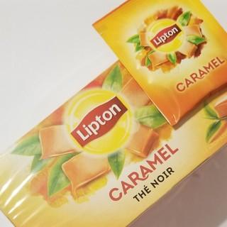 新品 25袋 Lipton Caramel リプトン キャラメル フランス 紅茶(茶)