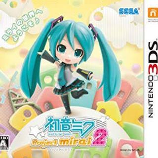 ニンテンドー3DS(ニンテンドー3DS)の初音ミクプロジェクトミライ2(携帯用ゲームソフト)