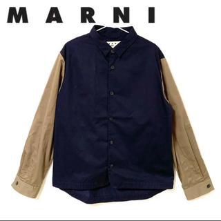 マルニ(Marni)のMARNI マルニ H&M コラボ ツートン シャツ メンズ Mサイズ(シャツ)