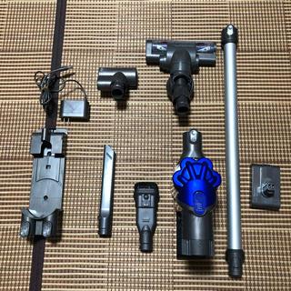 ダイソン dc35  サイクロン掃除機フルセット モーターヘッド2個 コードレス(掃除機)