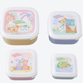 Disney - 新品ダッフィーフレンズ シール容器 かくれんぼ