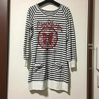 シマムラ(しまむら)のチュニック❤︎サイズ160(Tシャツ/カットソー)