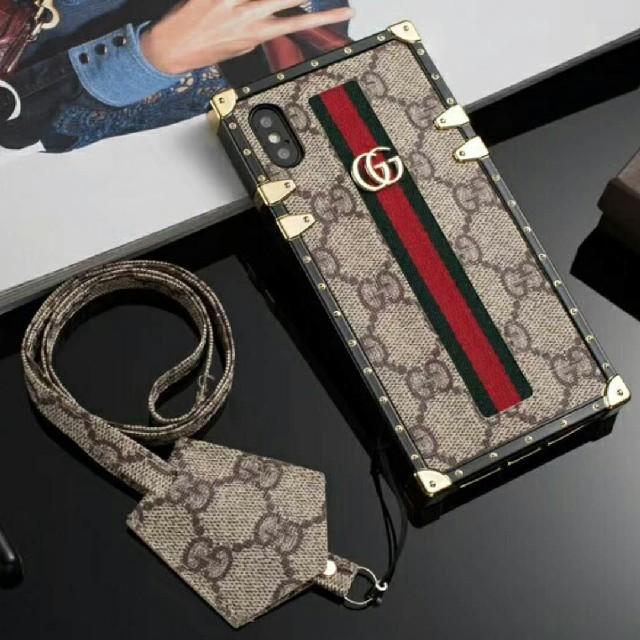 おしゃれ iphone8plus ケース 財布型 / Gucci - グッチ 携帯ケースの通販 by みお's shop87|グッチならラクマ