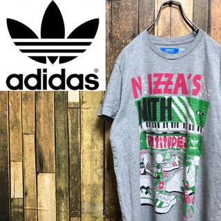アディダス(adidas)の【激レア】アディダスオリジナルス☆スニーカー柄ポップデザインTシャツ(Tシャツ/カットソー(半袖/袖なし))