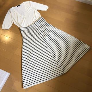 ザラ(ZARA)のZara♡ボンディングスカート(ひざ丈スカート)