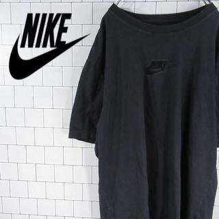 ナイキ(NIKE)の【激レア】ナイキ スウォッシュ 刺繍ロゴ ビッグサイズ Tシャツ 古着(Tシャツ/カットソー(半袖/袖なし))