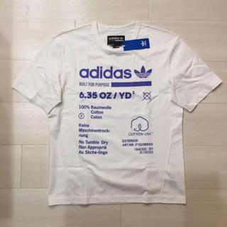 アディダス(adidas)の◆新品◆アディダスオリジナルス Tシャツ ブルー 白/ステューシー好きにも(Tシャツ/カットソー(半袖/袖なし))