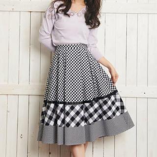 Noela - タグ付き♡ ミックスパターンスカート