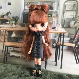 【再販】メンズテイストフリルワンピ(人形)