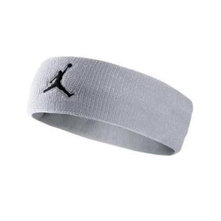ナイキ(NIKE)の新品 Nike ジョーダン ジャンプマン ヘアバンドバンド ウルフグレー(キャップ)