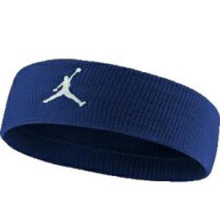 ナイキ(NIKE)の新品 Nike ジョーダン ジャンプマン ヘアバンドバンド ロイヤルブルー(キャップ)