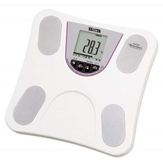 【在庫わずか】乗るだけ簡単☆ タニタ体重計 ホワイト ダイエット(体重計)