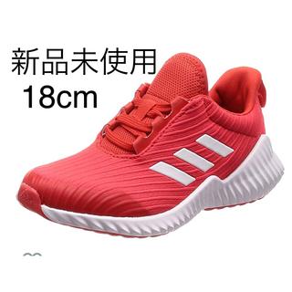 アディダス(adidas)のアディダス 18cm レッド(スニーカー)