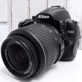 ニコン(Nikon)の★美品★Nikon D5000 レンズキット(デジタル一眼)