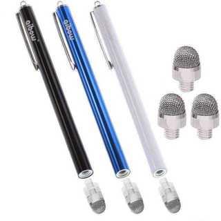 ★バカ売れ! タッチペン スマートフォン タブレット 黒+青+白??★(タブレット)
