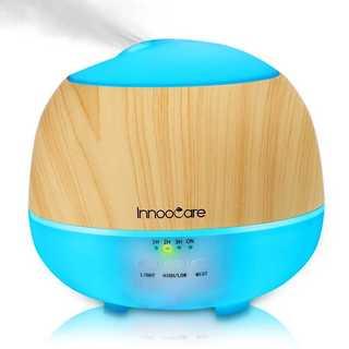 アロマディフューザー 加湿器 空気清浄 香り 超音波 300ml7色変換LED(加湿器/除湿機)