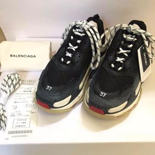 Balenciaga - BALENCIAGA tripleS トリプルS 赤黒 37