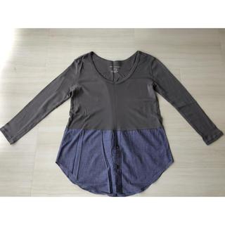バンヤードストーム(BARNYARDSTORM)のBARNYARDSTORM・シャツドッキングレイヤードロングカットソー(Tシャツ(長袖/七分))