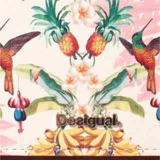 デシグアル(DESIGUAL)の新品♡定価9900円 デシグアル  長財布 トロピカル柄 大幅お値下げ‼️(財布)