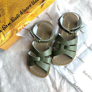 salt water sandals original サイズ10(サンダル)