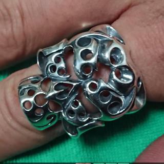 テンダーロイン(TENDERLOIN)の美品 テンダーロイン ボルネオスカルリング 19号(リング(指輪))
