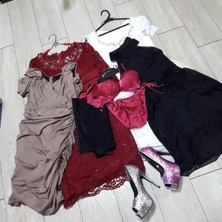 デイジーストア(dazzy store)のキャバドレス まとめ売り タグつき新品未使用多数有(ナイトドレス)