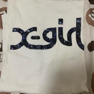 エックスガール(X-girl)のX-girl 白Tシャツ(Tシャツ(半袖/袖なし))