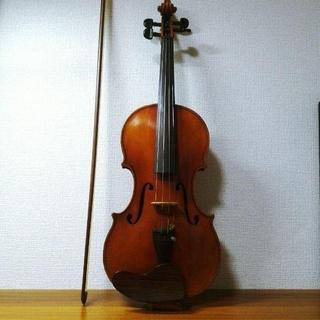 【手工ドイツ製】K.Shimora 4/4 No.120 バイオリン 1981(ヴァイオリン)