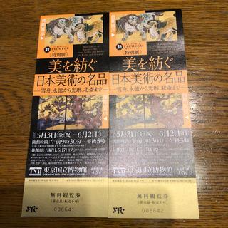 美を紡ぐ 日本美術の名品 東京国立博物館(美術館/博物館)