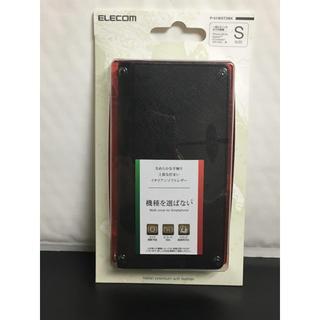 エレコム(ELECOM)の手帳型汎用スマホケース Sサイズ  ブラック エレコム P-01WDT3BK(Androidケース)