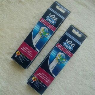 ブラウン(BRAUN)のブラウン  オーラルB 替ブラシ 歯間ワイパー付きブラシ 3P × 2セット(電動歯ブラシ)