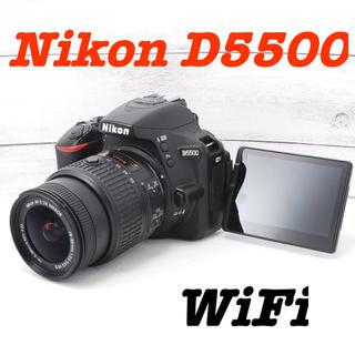 ニコン(Nikon)の❤️Wi-Fi機能搭載❤️自撮りもOK❤️Nikon D5500(デジタル一眼)