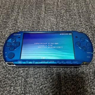 プレイステーションポータブル(PlayStation Portable)のPSP3000 本体のみ(携帯用ゲーム本体)