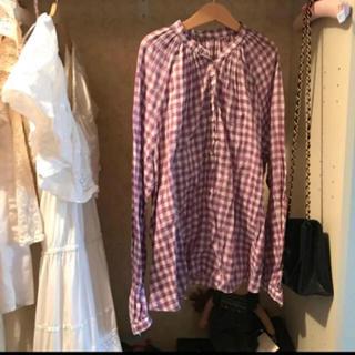 ロキエ(Lochie)のgingham checked shirts&camisole(シャツ/ブラウス(長袖/七分))
