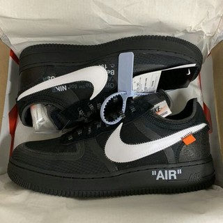 OFF-WHITE - NIKE AIR FORCE 1 LOW OFF-WHITE 28cm