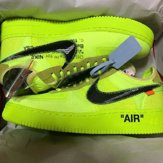 OFF-WHITE - NIKE THE TEN AIR FORCE 1 LOW VOLT 28cm