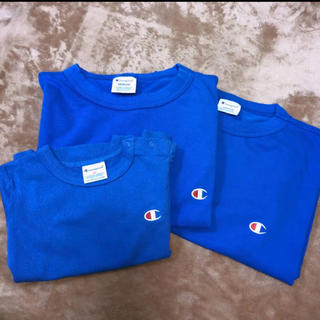 チャンピオン(Champion)の新品未使用 チャンピオン Tシャツ 親子コーデ リンクコーデ 3枚セット(Tシャツ/カットソー)