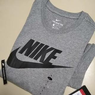 NIKE - ●新品タグ付● NIKE  ナイキ スウォッシュTシャツ/グレー/L