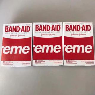 supreme  band aid 3箱セット(日用品/生活雑貨)