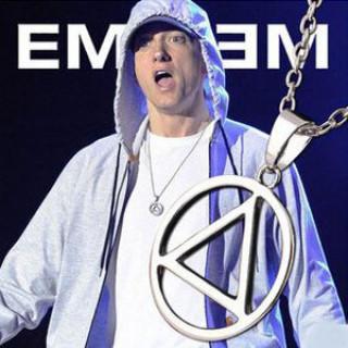 新品 Eminem エミネム 着用モデル シルバー ネックレス(ネックレス)