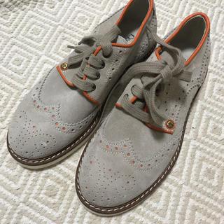 【19.5cm】cesare paciotti キッズ用 革靴(フォーマルシューズ)