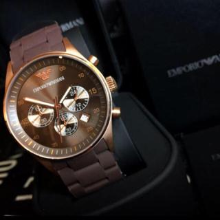 エンポリオアルマーニ(Emporio Armani)のエンポリオアルマーニ時計(金属ベルト)