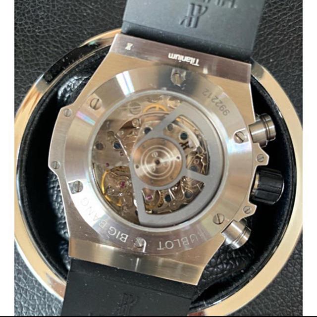 purchase cheap 428d0 c3790 H製 BIG UNICO チタン・シルバー 黒ダイアル 自動巻