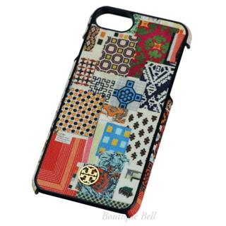トリーバーチ(Tory Burch)のトリーバーチ レザー iPhone7/8ケース コラージュ(iPhoneケース)