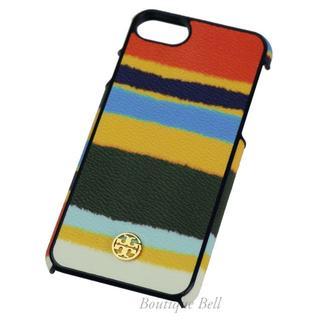 トリーバーチ(Tory Burch)のトリーバーチ レザー iPhone7/8ケース マルチカラー(iPhoneケース)