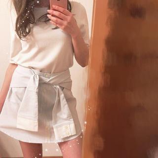 トランテアンソンドゥモード(31 Sons de mode)の《31 sons de mode》シャツ巻き風スのスカート♡(ミニスカート)